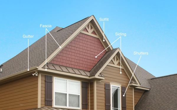 Home exterior diagram