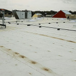 Flat roof at Fresh Thyme