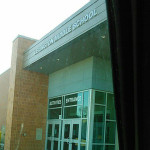 Exterior of Lexington Middle School
