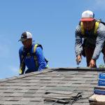 Nailing Habitat roof
