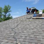 Finishing Habitat roof