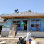 Habitat house in progress