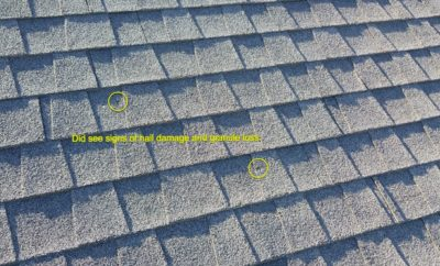 Detailed roofing inspection