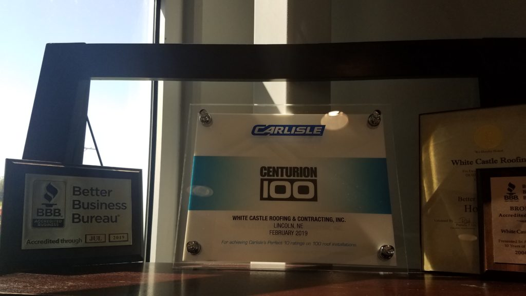 Centurion 100 award plaque