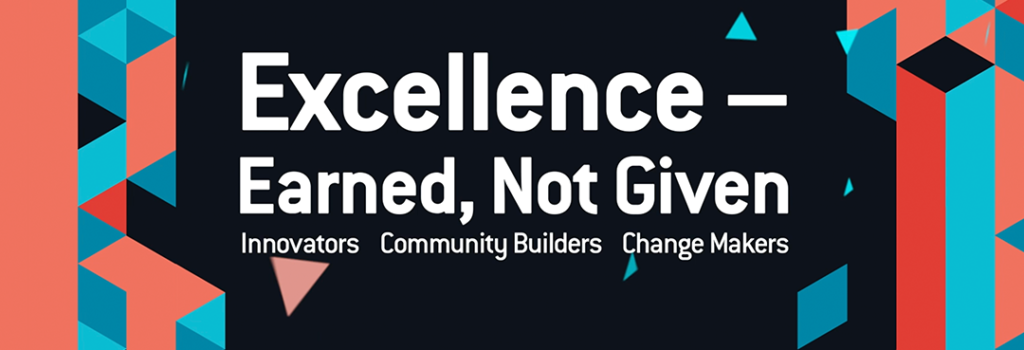 Business Excellence Awards are earned, not given