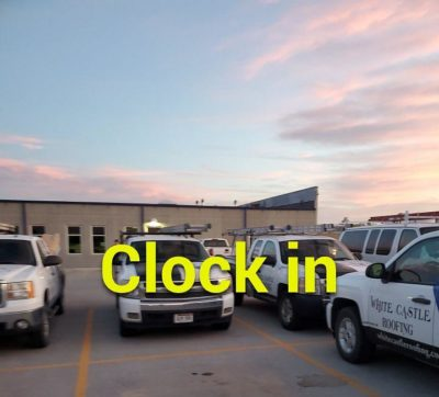 Clock in at sunrise