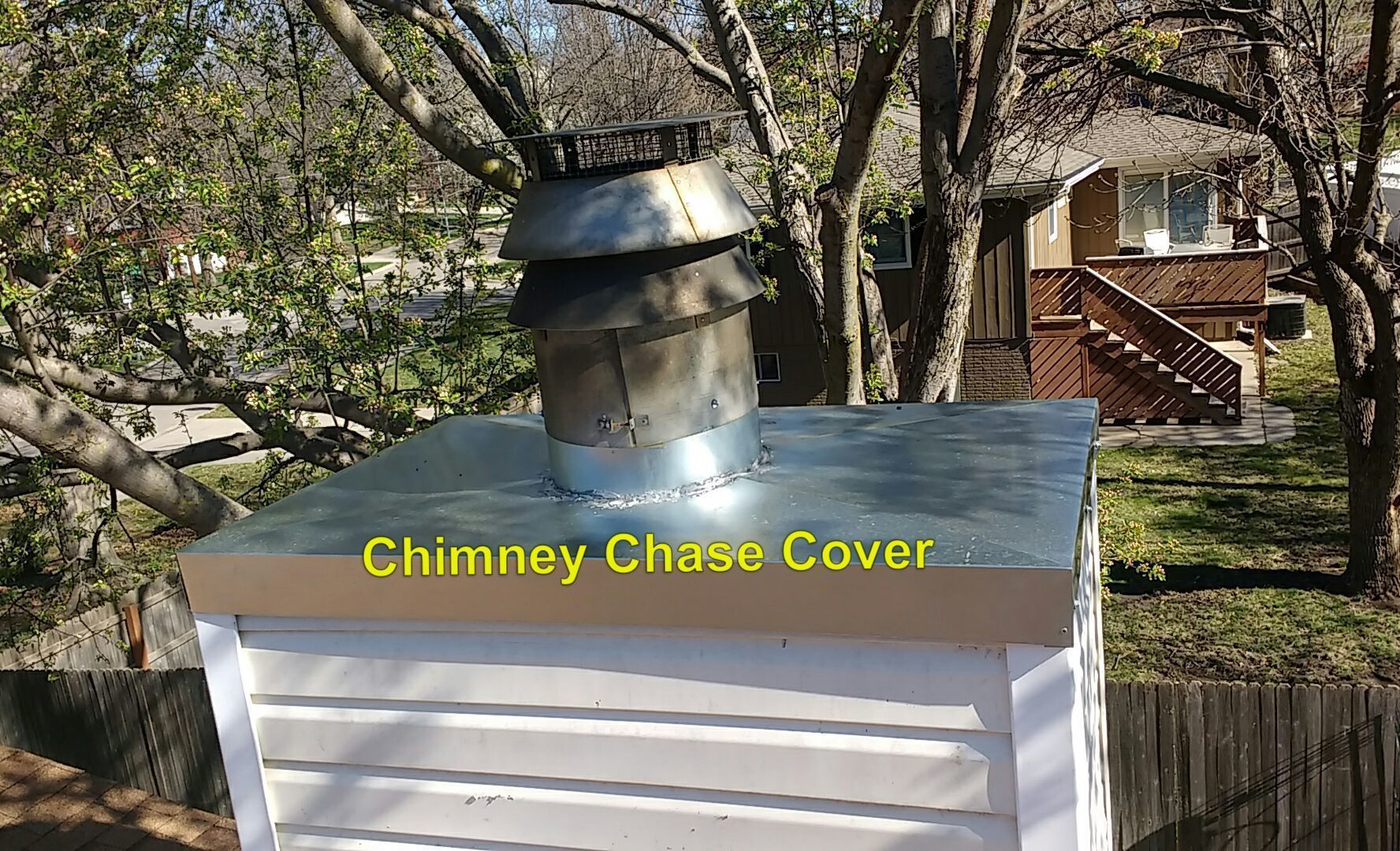 Chimney chase cover